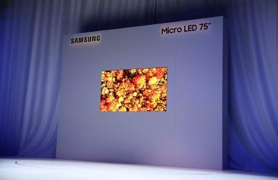 Samsung esitteli uusia mikroled-televisioita – kokoa jopa 219 tuumaa