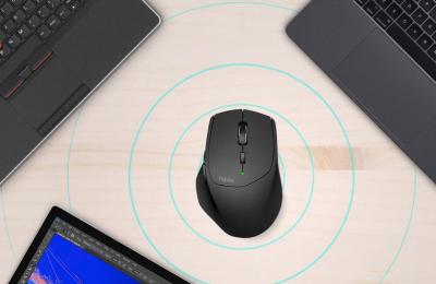 Rapoon langattomalla hiirellä voi käyttää neljää eri tietokonetta