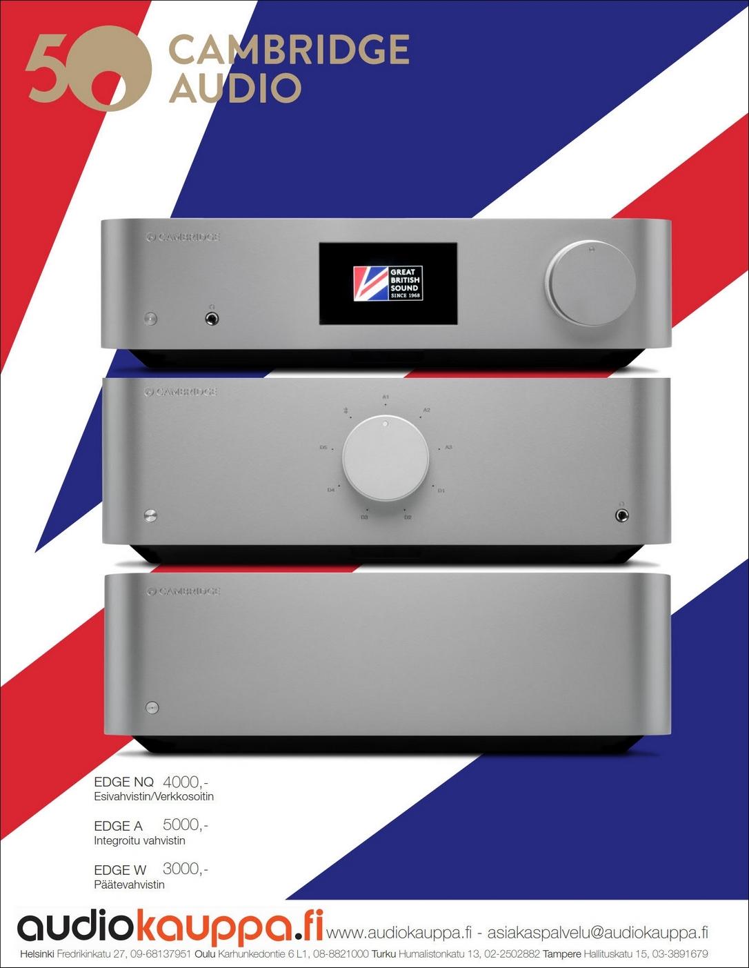 ILMOITUS: Audiokauppa