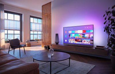 Philipsin uusi 8804 4k -televisiomallisto käyttää lcd-paneelia ja sisältää B&W:n kaiutinjärjestelmän