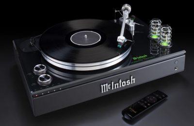 McIntosh esitteli all-in-one-laitteen vinyylisoittimella ja bluetooth-yhteydellä
