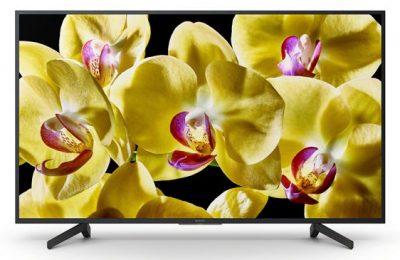 Sonyltä neljä uutta 4k hdr -televisiota – koot yltävät 43 tuumasta 75 tuumaan