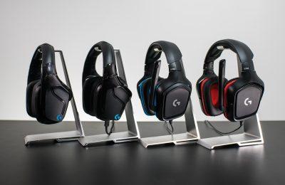 Logitechilta neljä uutta pelikuuloketta G-sarjaan