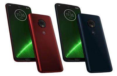Motorola esitteli neljä uutta Moto G7 -puhelinta