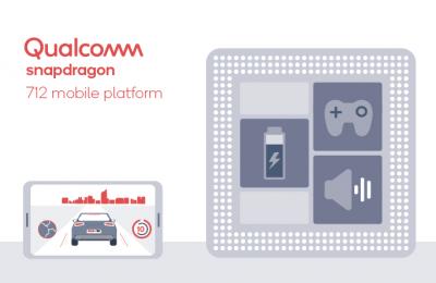 Qualcomm esitteli ylemmän keskiluokan Snapdragon 712 -piirin – 10 prosenttia enemmän suorituskykyä kuin edeltäjässä
