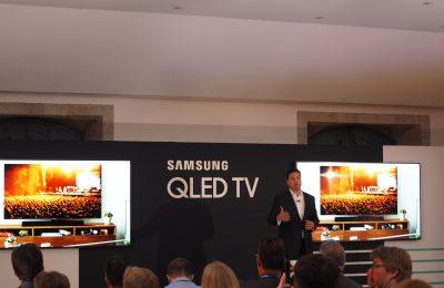 Samsungin tämän vuoden qled-televisiot esiteltiin Portugalissa – suunta kohti suurempaa