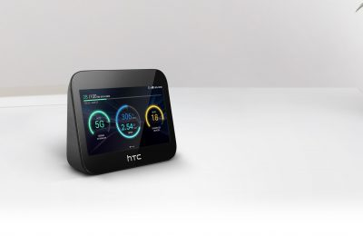 HTC esitteli 5G-yhteyksillä toimivan mobiilin viihdekeskuksen – yhdistää reitittimen, virtapankin ja näytöllisen älykaiuttimen