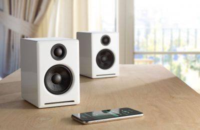 Audioenginen A2+ -työpöytäkaiuttimista on ilmestynyt langaton versio – tulossa myös Suomeen