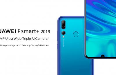 Vaikuttavat kamerat keskihintaluokkaan – Huawei esitteli suositusta P Smart 2019:stä Plus-version