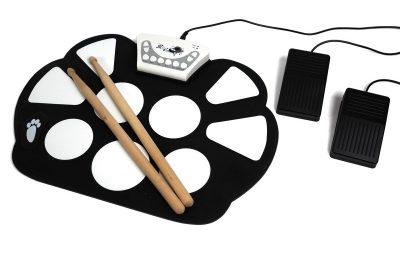 Kokeilussa Roll Up Drum Kit: Rummut rullalle!