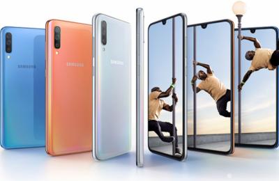 Samsungilta uusi Galaxy A70 -puhelin – suuri näyttö, kolmoiskamera ja mojova akun kapasiteetti