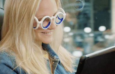 Citroën julkisti silmälasit, joiden luvataan vähentävän matkapahoinvointia