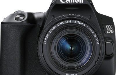 Canon esitteli uuden aloittelijatason EOS 250D -järjestelmäkameran