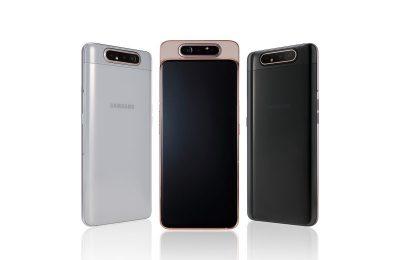 Samsung täydensi keskihintaluokan Galaxy A -mallistoaan A80:llä – kekseliäs kolmoiskamera kääntyy selfiekameraksi