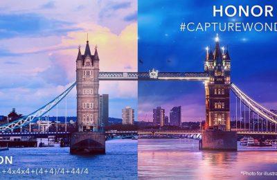 Honor julkistaa uudet 20-sarjan puhelimet Lontoossa toukokuussa
