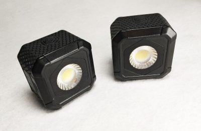 Testissä bluetooth-valaisin Lume Cube Air – lisävaloa ledillä