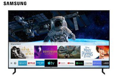 Samsungin televisioihin saapui ensimmäisenä tv-valmistajana tuki Apple TV:lle ja AirPlay 2:lle