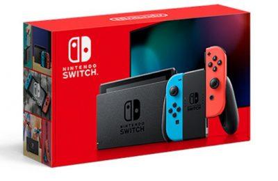 Nintendon Switch-konsolista ilmestyi uudistettu versio pidemmällä akunkestolla