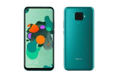 Huaweilta ilmestyi uusi Nova 5i Pro -puhelin Kiinassa – neljä takakameraa
