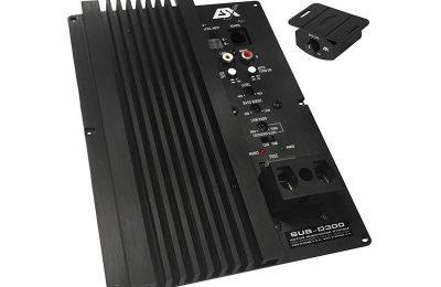 ESX Audiolta upotettava subbarivahvistin autokäyttöön