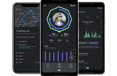 Google Fit -sovellus sai tumman tilan ja tuen unitietojen synkronointiin