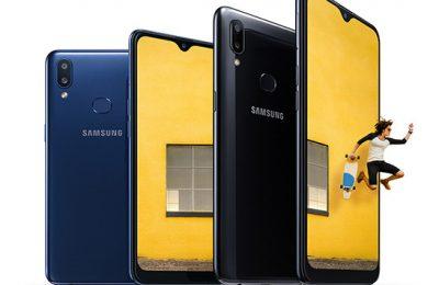 Samsung esitteli parannetun version suositusta Galaxy A10 -budjettipuhelimesta