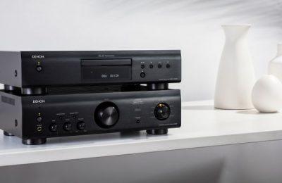 Denonilta uusi budjettiluokan stereovahvistin ja cd-soitin