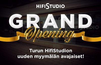 Turun uuden HifiStudio avajaisia vietetään syyskuun viimeisenä viikonloppuna
