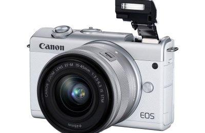 Canonilta uusi pieni ja kevyt EOS M200 -järjestelmäkamera