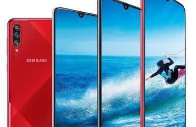 Samsungilta uusi Galaxy A70s -puhelin 64 megapikselin kameralla