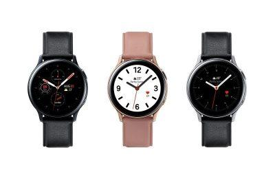 Samsungin EKG:lla varustettu Galaxy Watch Active 2 -kello saapuu Suomeen