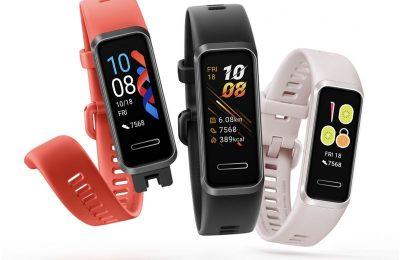 Huawei Band 4 -aktiivisuusranneke tarjoaa sykkeen ja unen seurantaa 45 eurolla