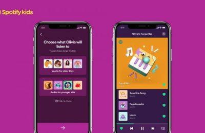 Spotifyltä lapsille soveltuvaa sisältöä tarjoava Spotify Kids -sovellus – toistaiseksi beta-testiversio