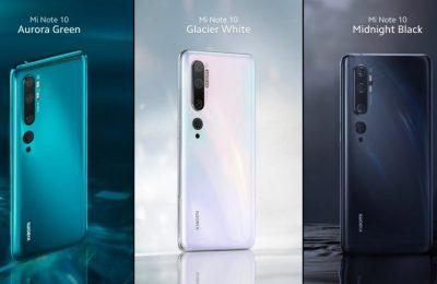 Xiaomi tuo Mi Note 10 -puhelimen Suomeen – 108 megapikselin superkamera ja jättiakku 549 eurolla