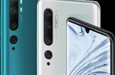 Xiaomin Mi Note 10 -puhelimet ilmestyivät – viitoiskamera 108 megapikselin pääkameralla
