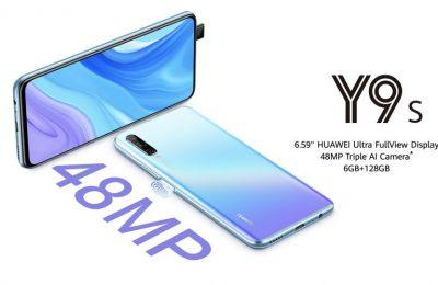 Huawei julkisti alemman keskihintaluokan Y9s-älypuhelimen – mukana 48 megapikselin kamera