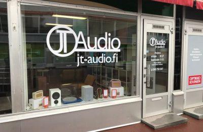 JT Audio avasi uuden hifimyymälän Hämeenlinnaan