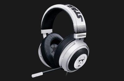 Razer julkisti Star Wars -teemaiset Kraken Stormtrooper -kuulokkeet