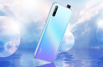Huawei on esittelemässä P Smart Pro -älypuhelimen – pop-up-selfiekamera ja takana 48 megapikselin kenno
