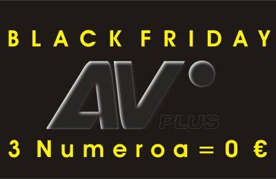 Black Friday tarjous 3 nro 0 €