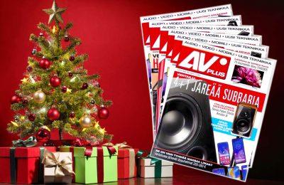 Seuraava AVPlus ennakkotilauksena Jouluksi kotiin - Tai lahjatilaus vain 29 €