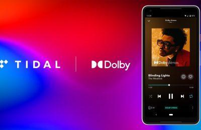 Tidal-suoratoistopalvelun valikoima täydentyy Dolby Atmos -musiikilla