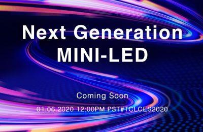 TCL esittelee CES-tapahtumassa uuden sukupolven mini-LED-teknologiaansa