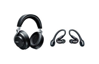 Shure esitteli kahdet AONIC-kuulokkeet – langattomat vastamelukuulokkeet ja täyslangattomat nappikuulokkeet