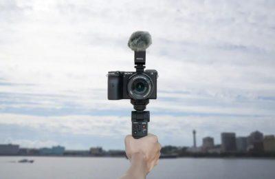 Sony esitteli kameroilleen langattoman GP-VPT2BT-kuvauskahvan – toimii myös jalustana