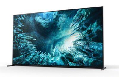 Sonylta uusia 8K- ja 4K Full Array LED -televisiomalleja
