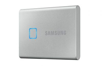 Samsungin SSD T7 Touch – huippunopea ulkoinen NVMe-SSD sormenjälkilukijalla