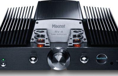 Magnat RV 4- Integroitu High-End putki-hybridivahvistin DAC:illa ja Bluetoothilla.