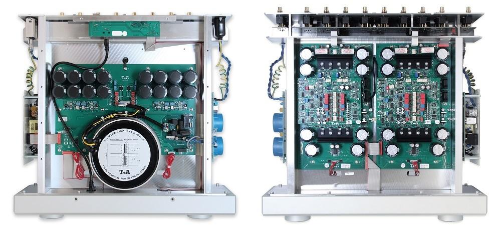 T+A P3100 HV amplifier inside