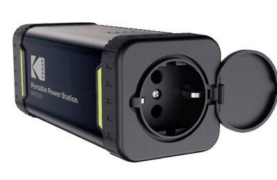 Kodak kannettava latausasema PPS100 - Pistorasia aina mukana